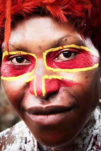 Goroka woman at the Mt Hagen Sing-Sing