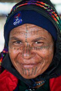 Woman at the Mt Hagen market