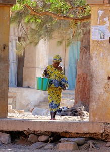 Doing the Washing - Goree