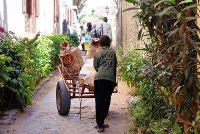 Easiest mode of transport on Goree