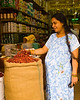 Pregnant Shopper with Cayenne Peppers<br /> Singapore Nov 2006<br /> © WEOttinger, The Wildflower Hunter - All rights reserved<br /> For educational use only - this image, or derivative works, can not be used, published, distributed or sold without written permission of the owner.
