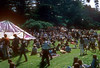 Greatful Dead playing at a free concert in golden gate park spring 1966