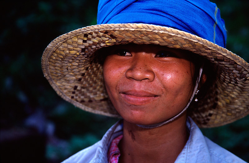 Field Worker, Angkor <br /> (Cambodia, 2004)
