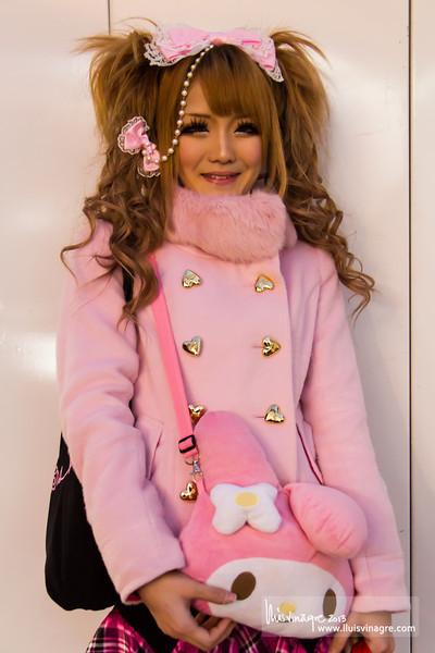 pink lolita / ピンクのロリータ