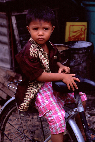 Boy on Bike, Bangkok<br /> (Thailand, 2004)