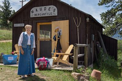 Volunteer Hosts Maude's Mercantile, Macgregor Ranch