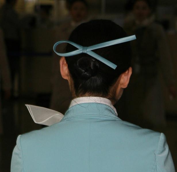 Korean Air Stewardess