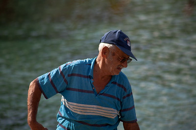 Fisherman in Assos