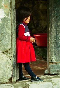 Girl in Red - Ollantaytambo