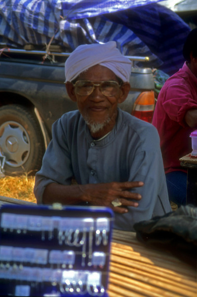 Mr Singh  Saturday Market Sandakan, Sabah, Malaysia