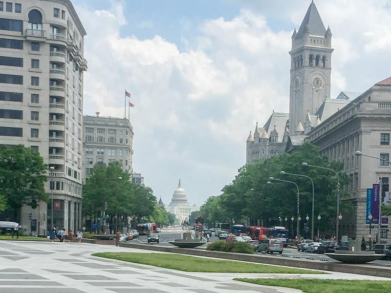 Capitol Building and Smithsonian,  Washington DC.