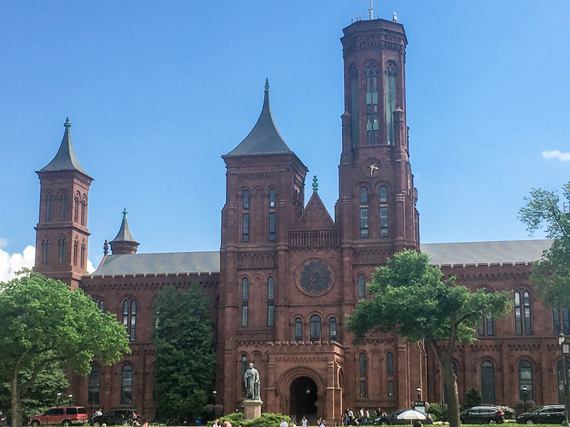 Smithsonian Building, Washington DC.