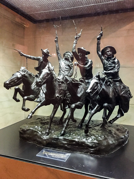 Coming Through the Rye, Frederic Remington, White House, Washington DC.