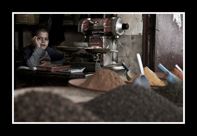 Young Shopkeeper - Fes Souks