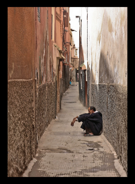 Alley in Marrakech
