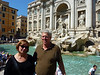 P1080306 Carol and Fred at Trevi Fountain