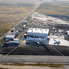 A bird's eye view of the airport in Perris, California.