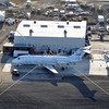A view of the airport facility in Perris, California.
