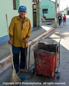 Worker in Trinidad