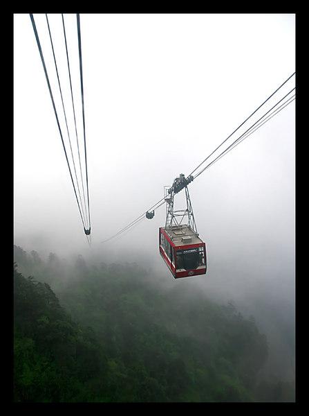 Mt. Emai. Buddhist mountain, China.