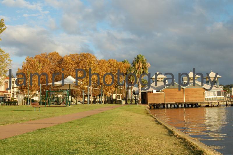 Autumn Morning, South Perth