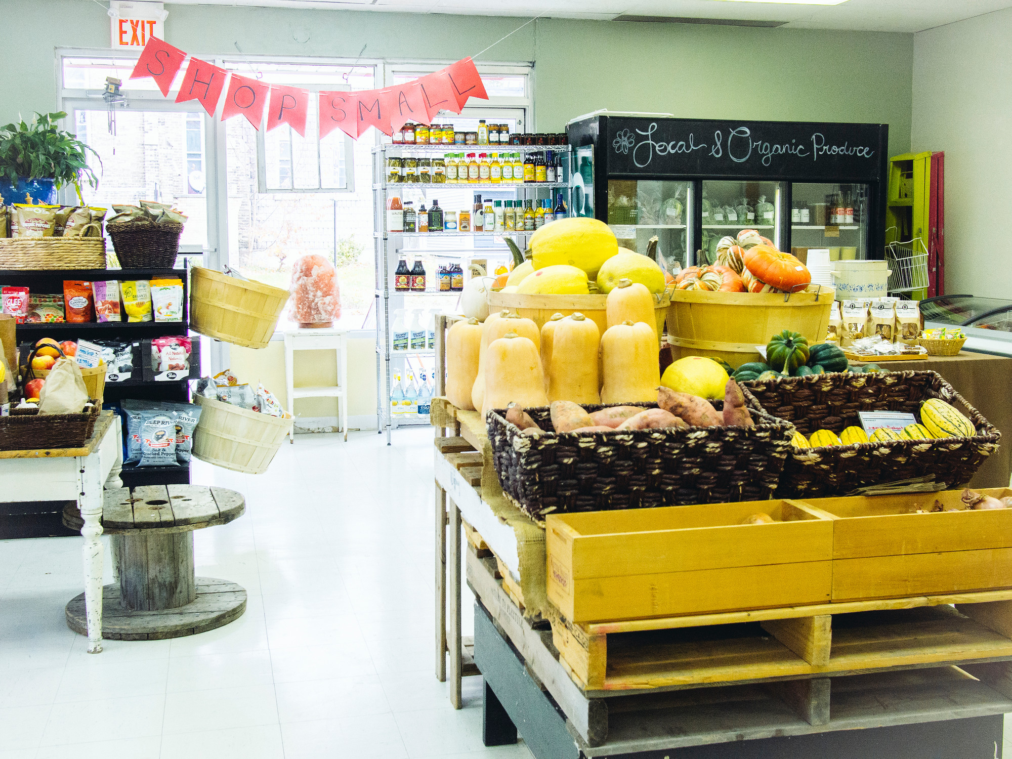 Cowan's Community Fresh in Listowel Perth County offers organic produce, prepared meals and local beef.