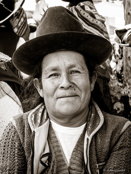 Portraits of The Quechua people