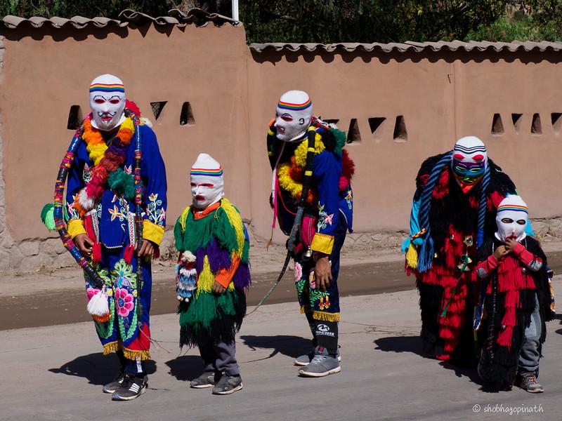 Street festival<br /> <br /> Urubamba Valley