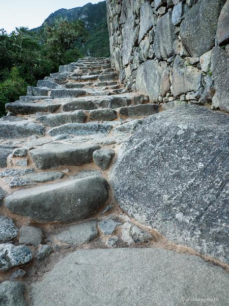 Part of the original  Inca Trail