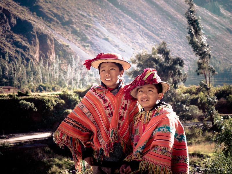 Andean mountain boys
