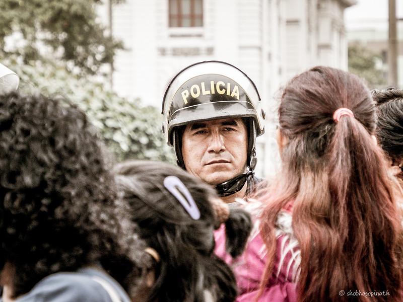 Street demonstrations