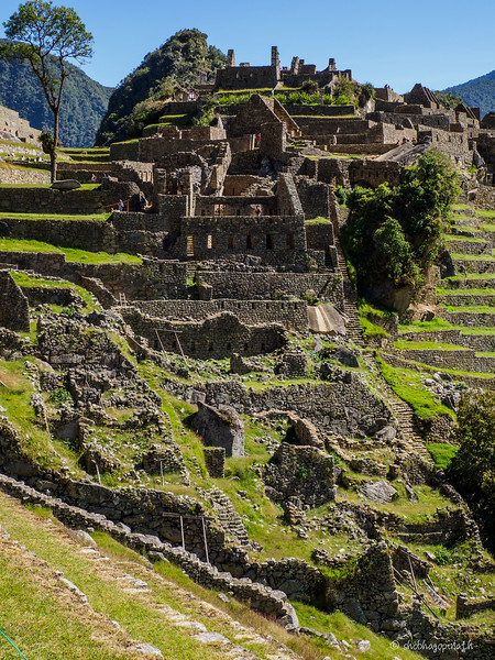 The ruins of Machu Picchu