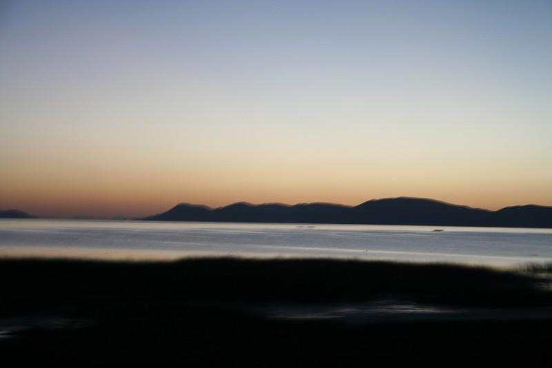 daybreak on Lake Titicaca