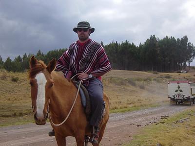 Cusco Ruins on Horseback