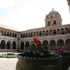 courtyard of Santo Domingo
