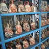 Moche head pots