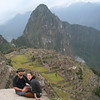 Steve and Angela at Machu Picchu
