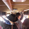 in the bus to Pisac