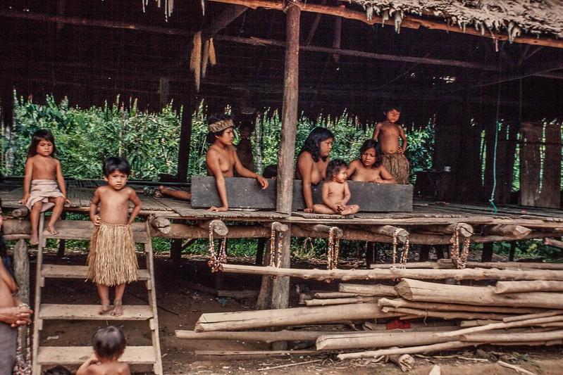 Yaqui Tribe in Amazon jungle