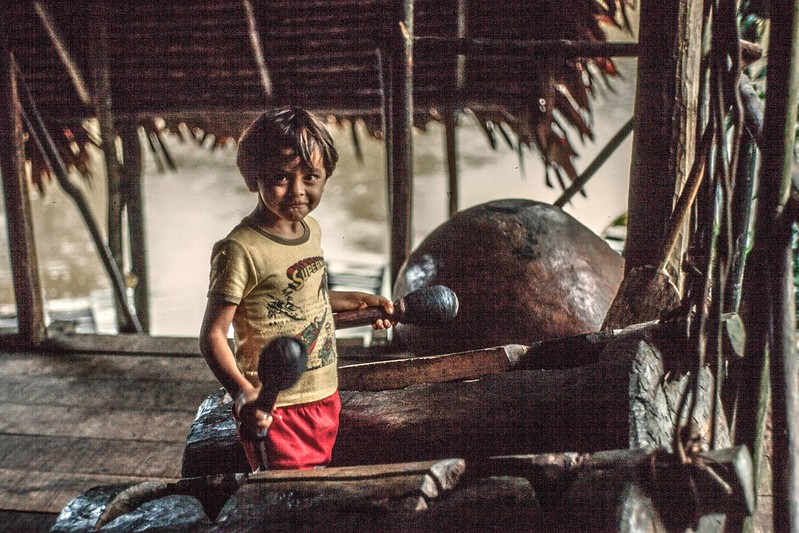 Amazon Jungle Camp-Several miles downriver from Iquitos