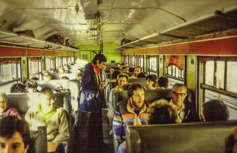 Train from Cuzco to Machu Pichu
