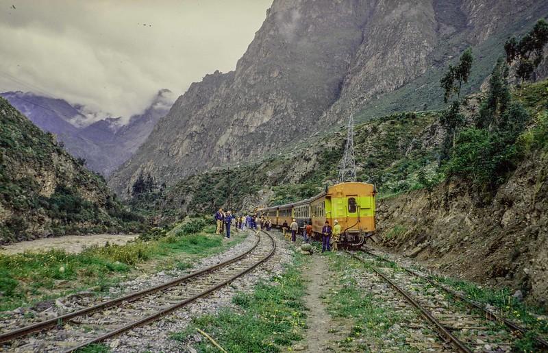 Train Siding going to Machu Pichu