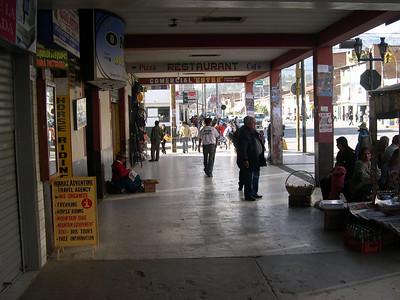 Arrival in Huaraz