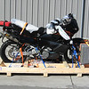 Bruces bike ready for final crating