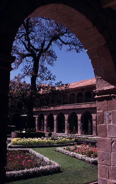 Monasterio's courtyard.