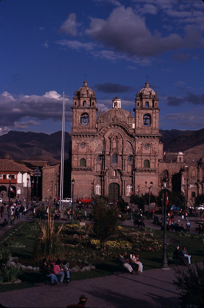 The Cuzco cathedral.