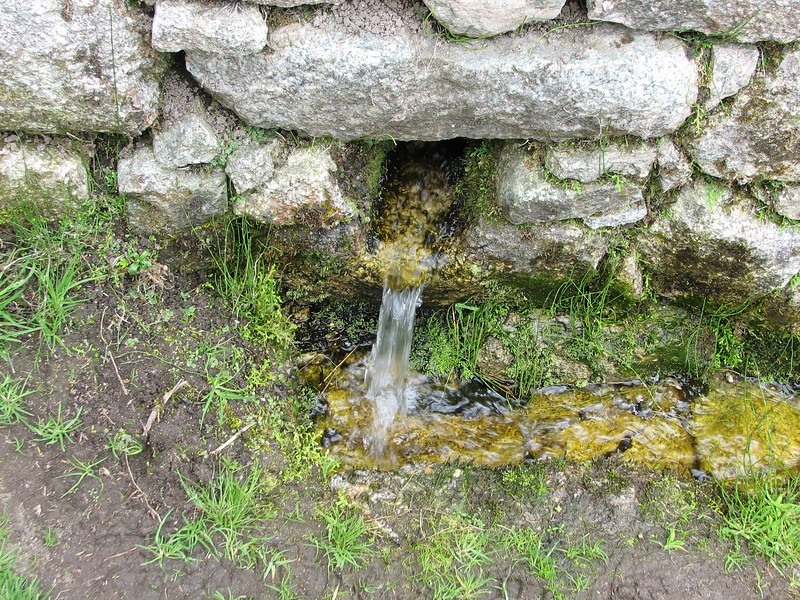 This is the water source for Machu Picchu (miles away)