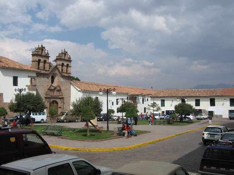 Back to the Monasterio hotel in Cusco