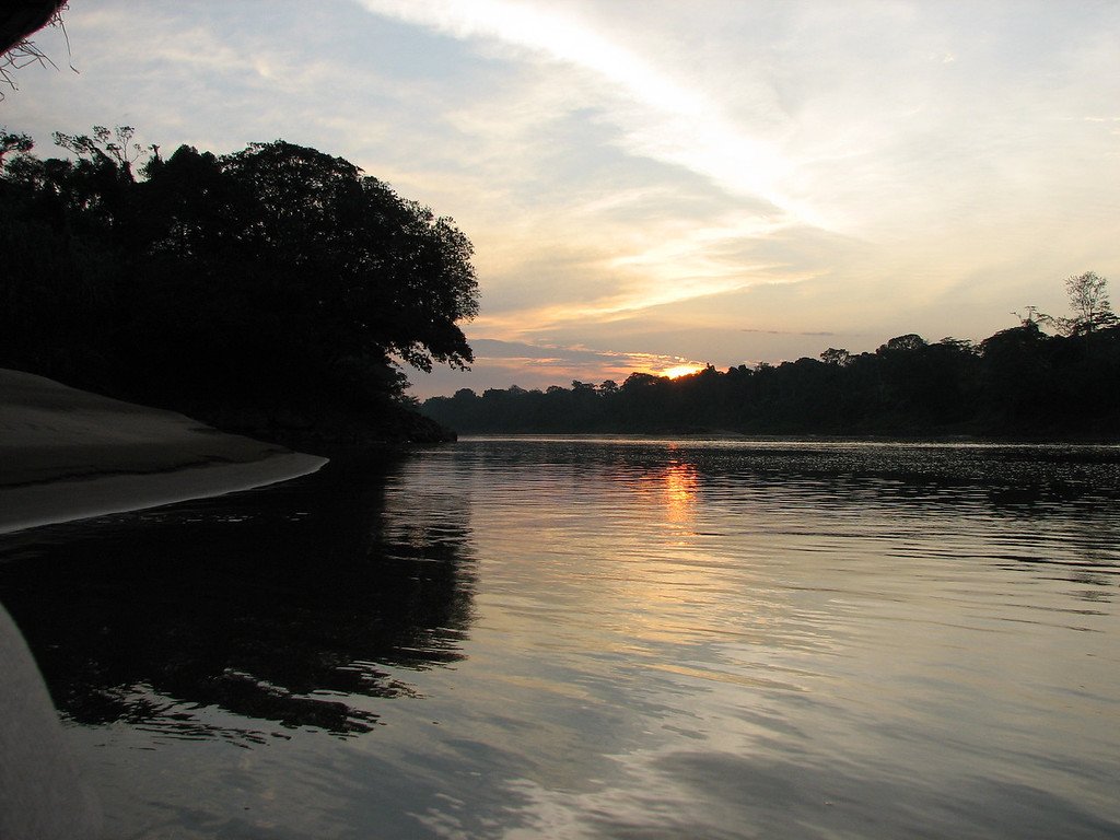 Evening on the Tambopata