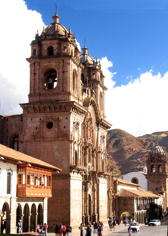 Cuzco main square